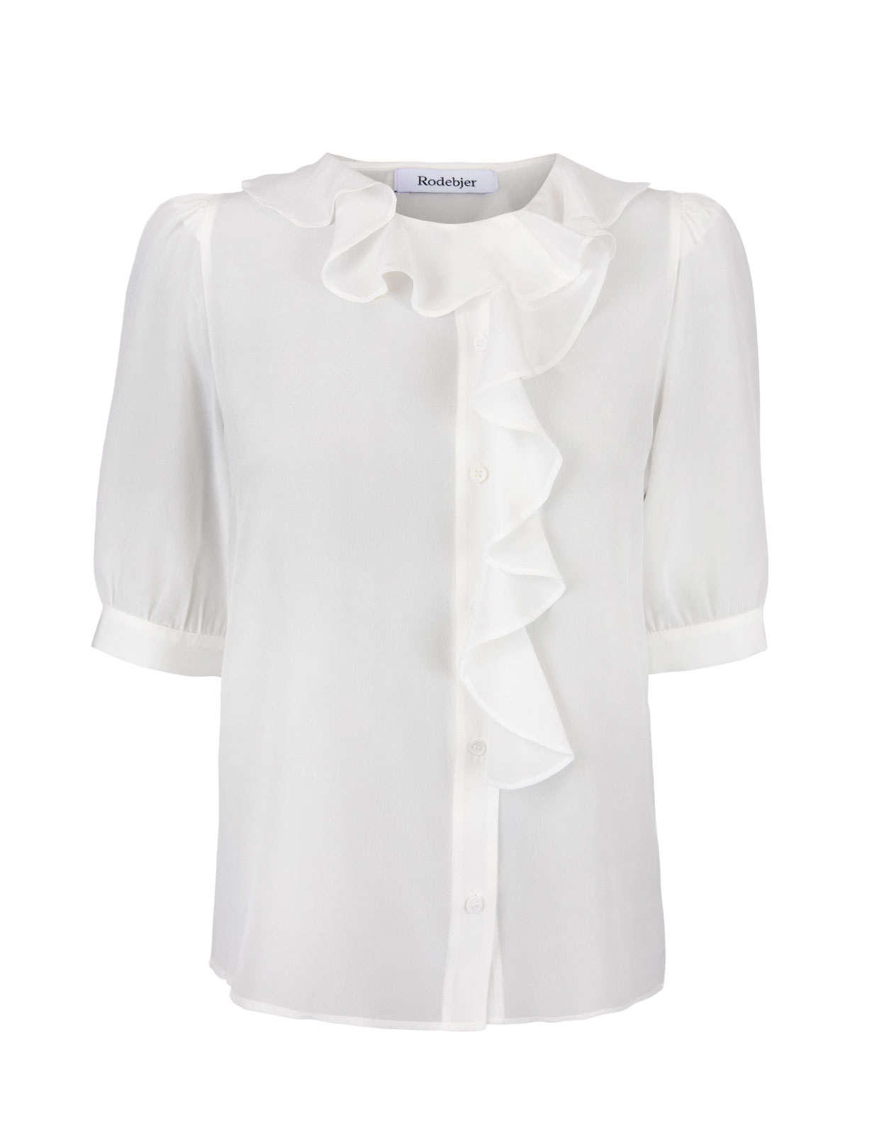 Xilla Blouse Silk Off White