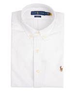 Slim Fit Oxford Shirt BSR White