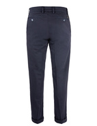 New York Regular Fit Chinos Satin Bomull Stretch Blue Navy Stl 56