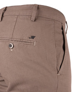 Milano Slim Chinos Cotton Stretch Micro Pattern Light Brown Stl 46