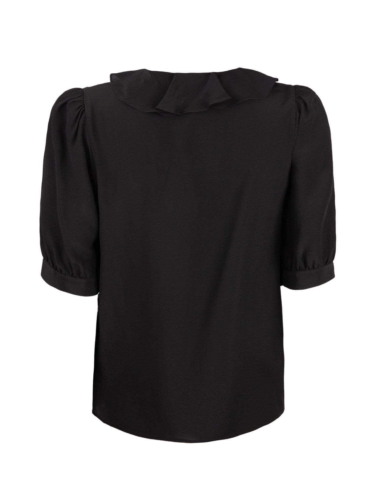 Xilla Blouse Silk Black