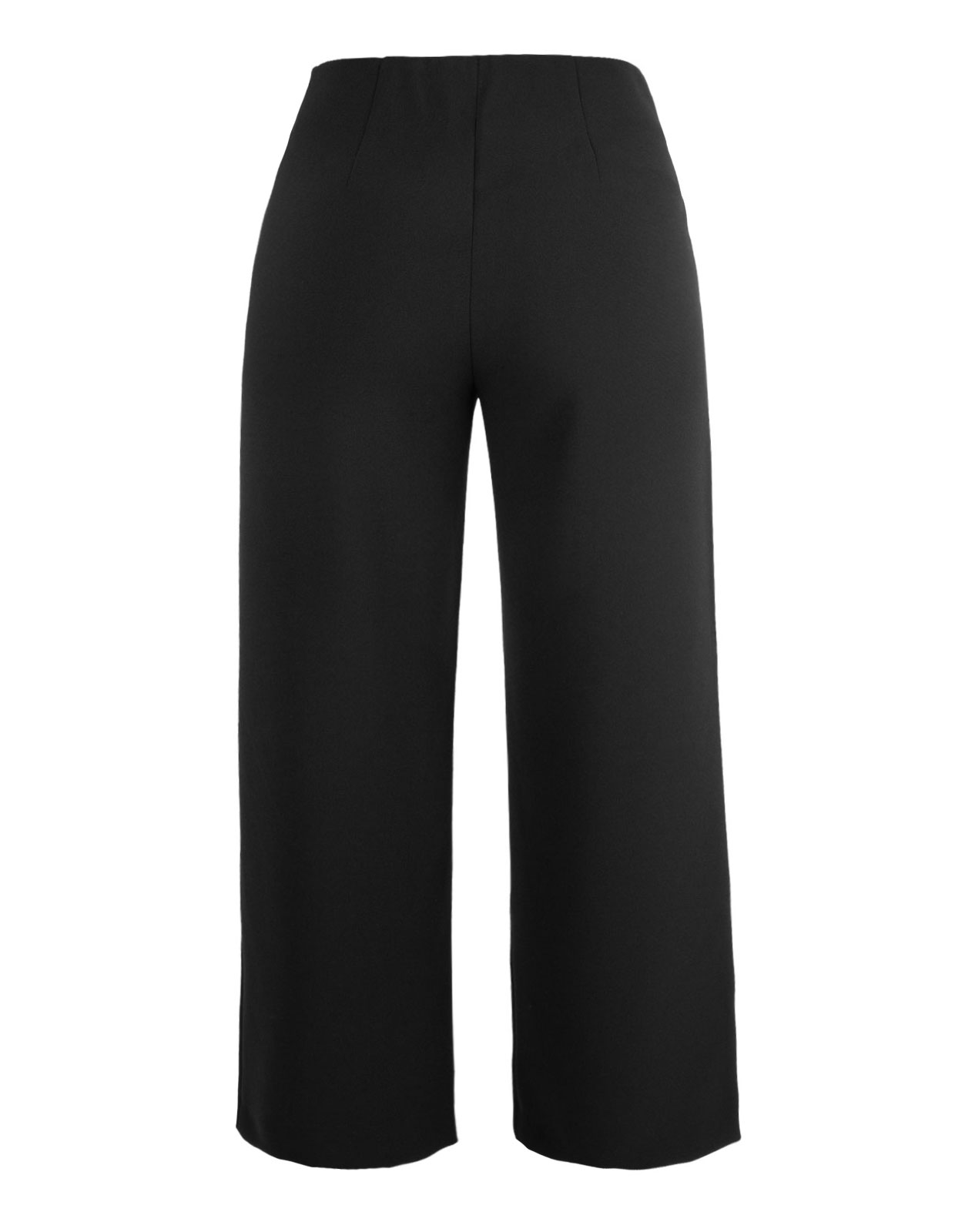 Trouser Pia Cropped Black