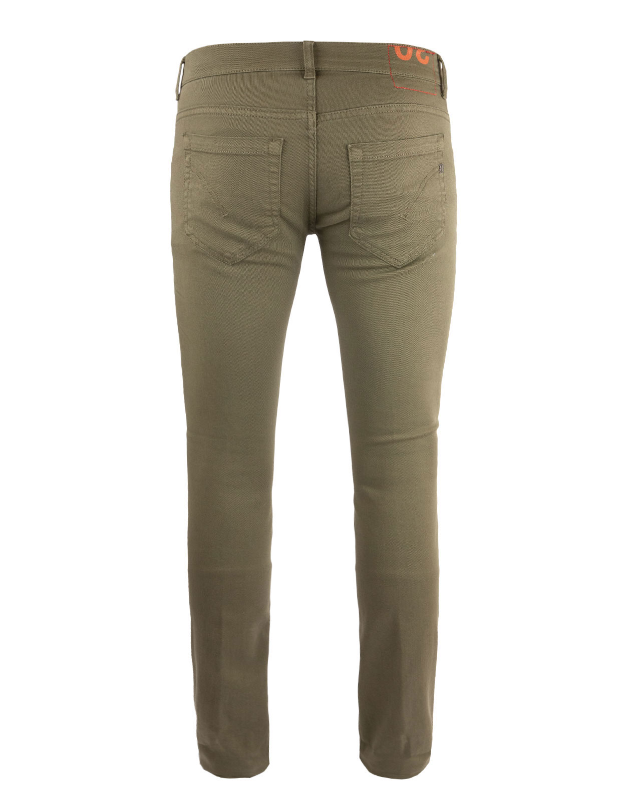 George Skinny Jeans Bull Denim Stretch Olive