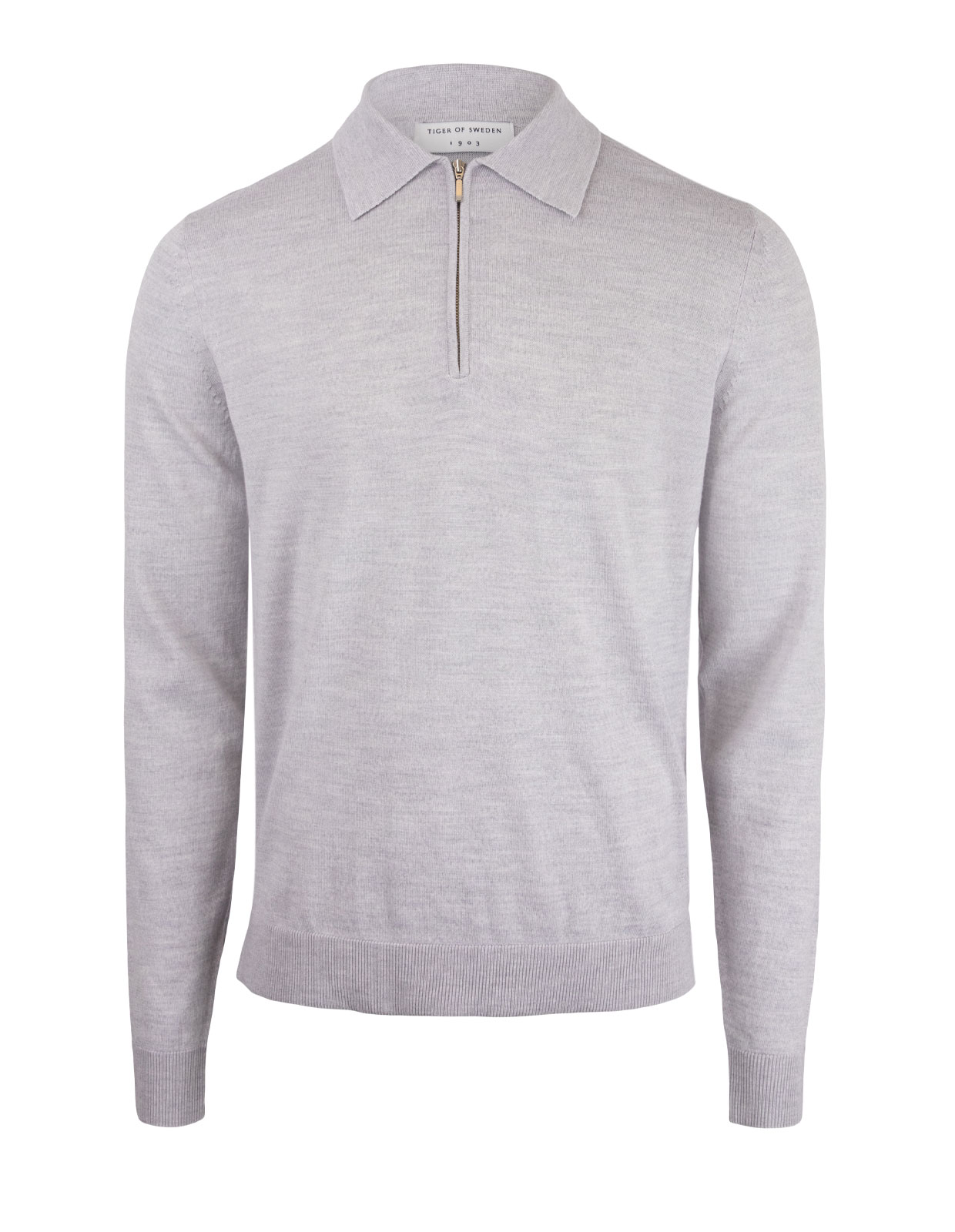 Orbit Half-zip Pullover M Lt Grey Mel.