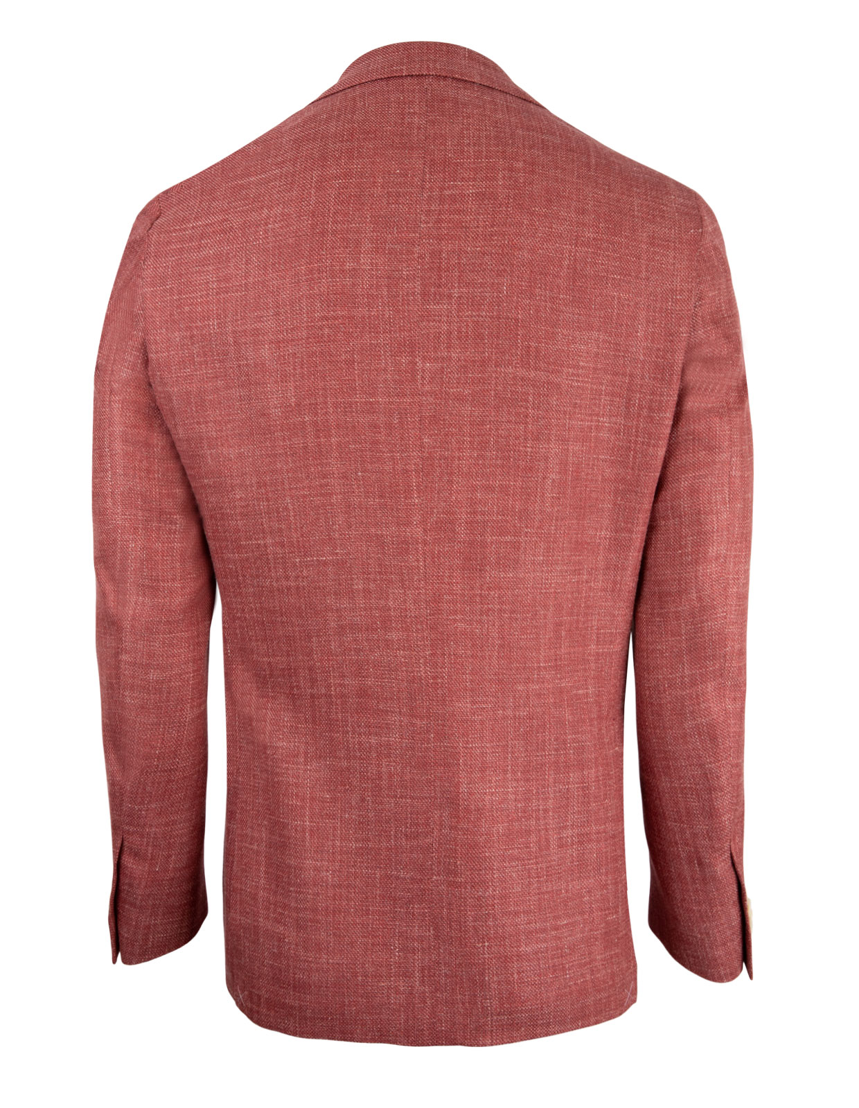 Gate Drop7 Blazer Wool Silk Linen Dusty Red