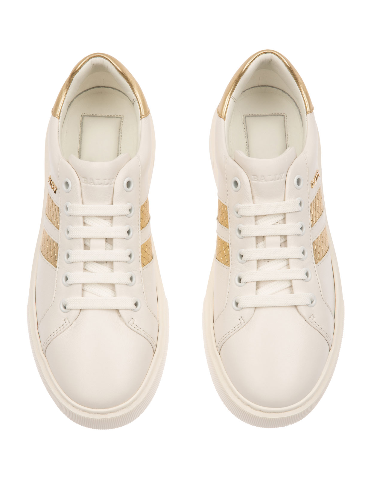 Marcus iconic stripe sneakers White / Platino