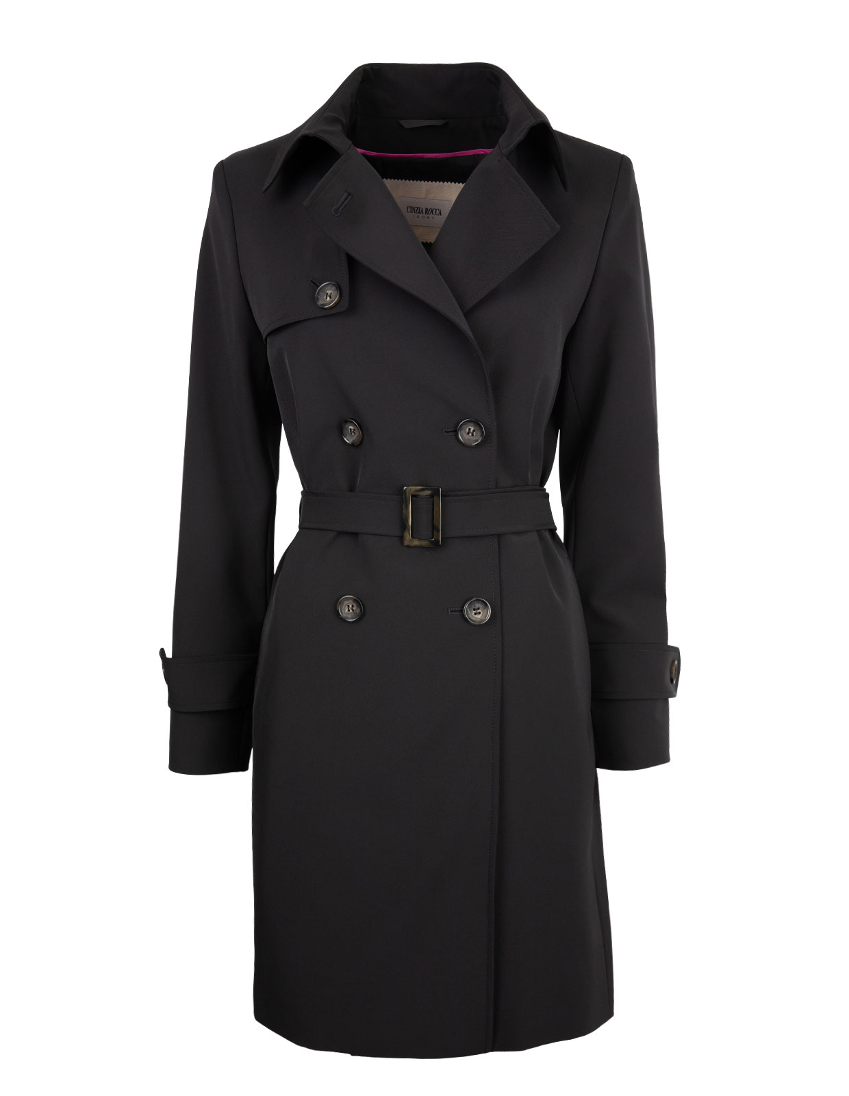 Trenchcoat Black