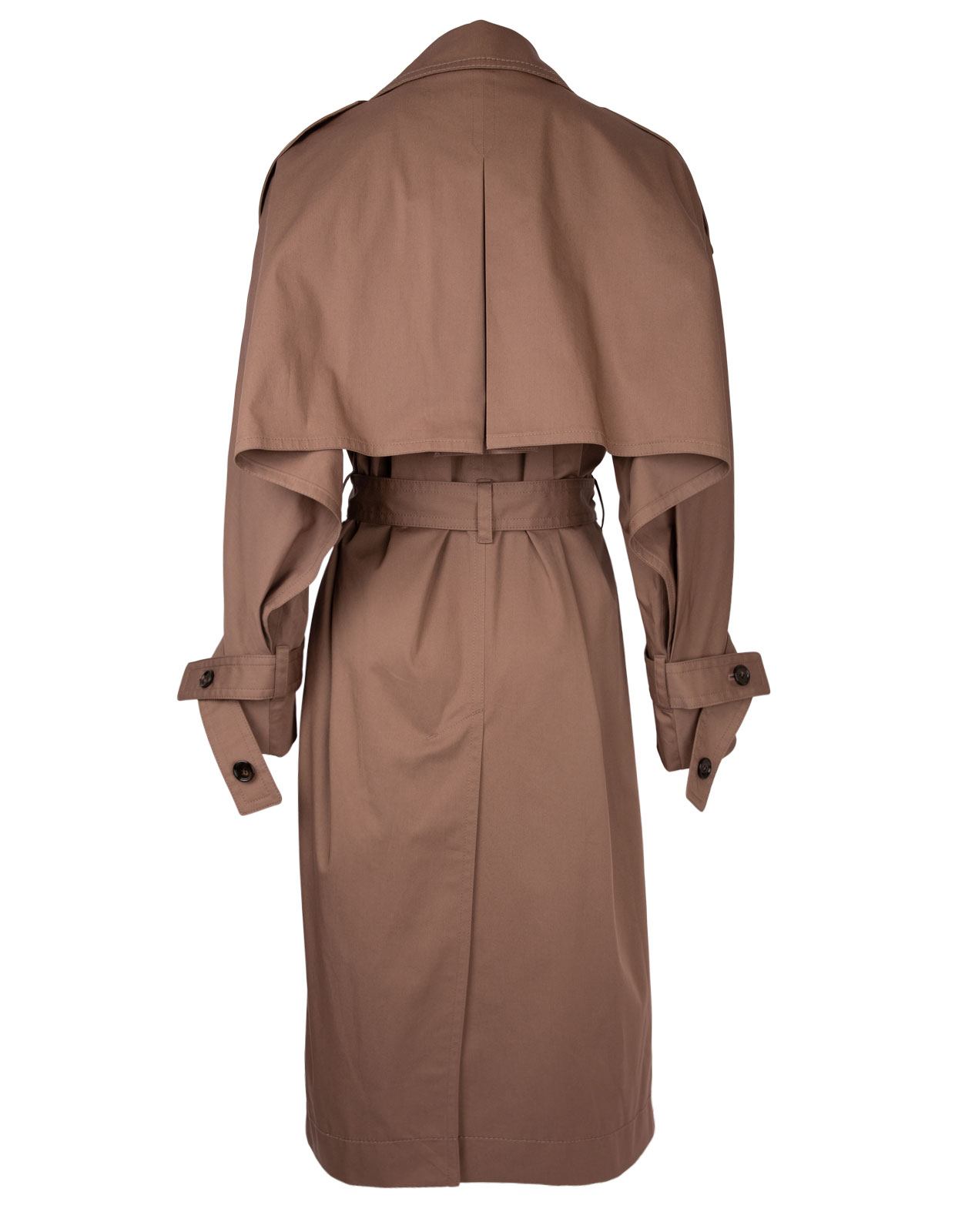 Cotton trench coat light brown LightBrown