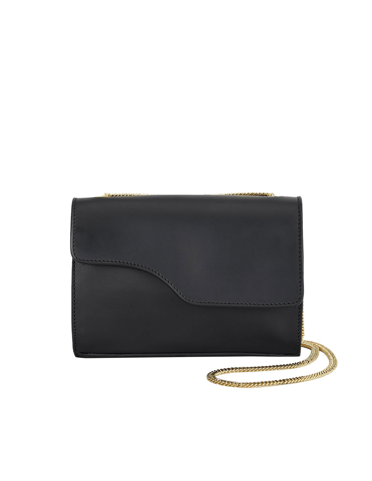 Pomerance crossbody bag Black Vacchetta