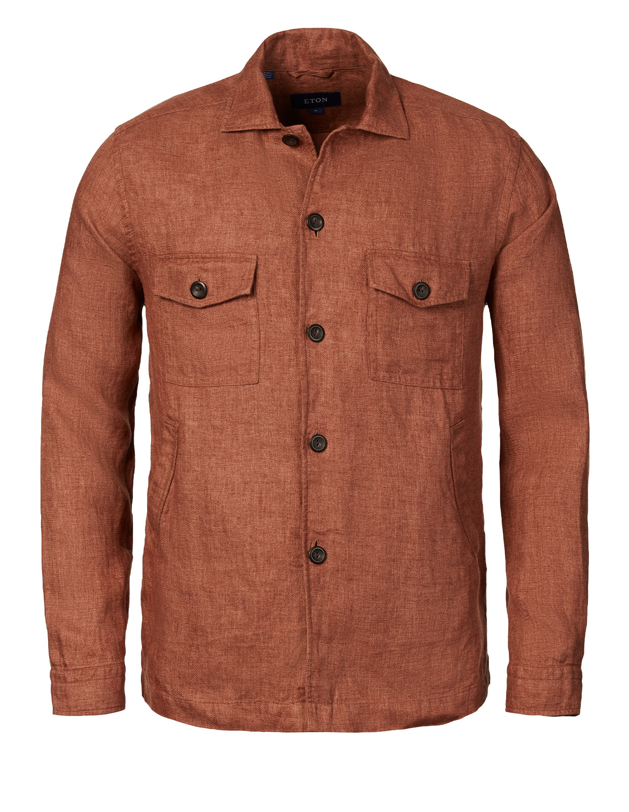 Overshirt Linen Brown