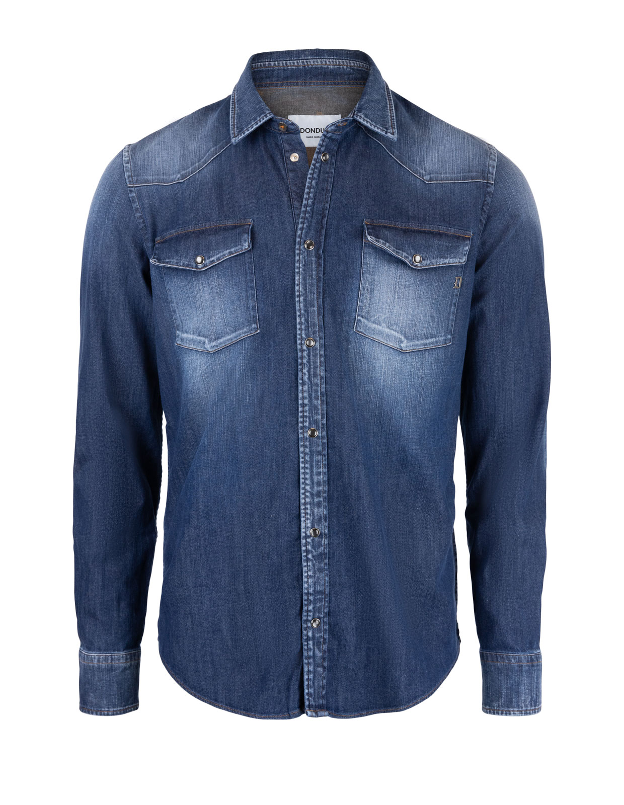 Denim Western Shirt Navy