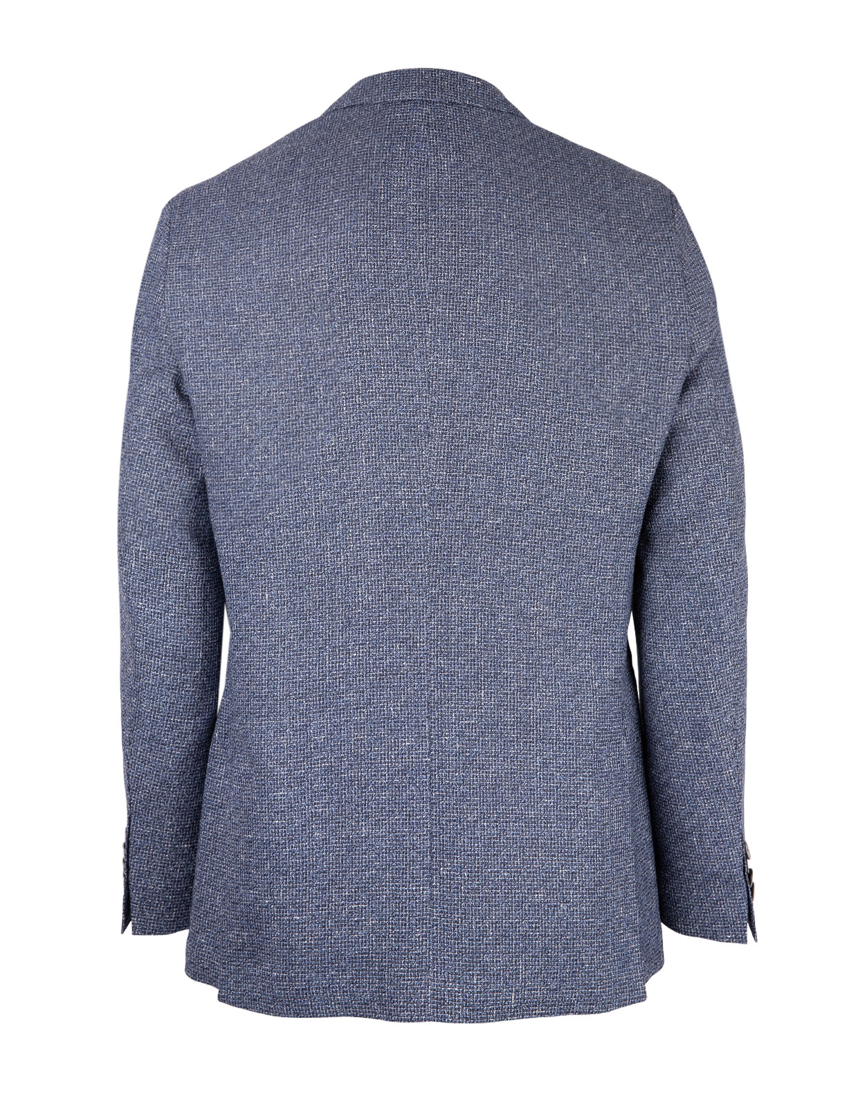 Jawen Regular Fit Blazer Wool Linen Open Blue