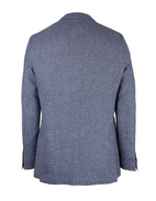 Jawen Regular Fit Blazer Wool Linen Open Blue Stl 104