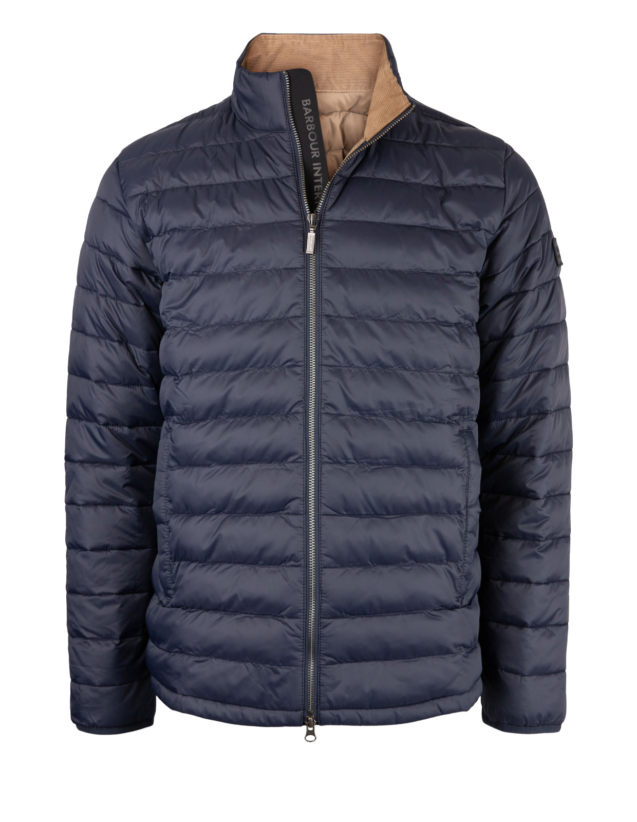 Summer Impeller Quilt Jacket Navy