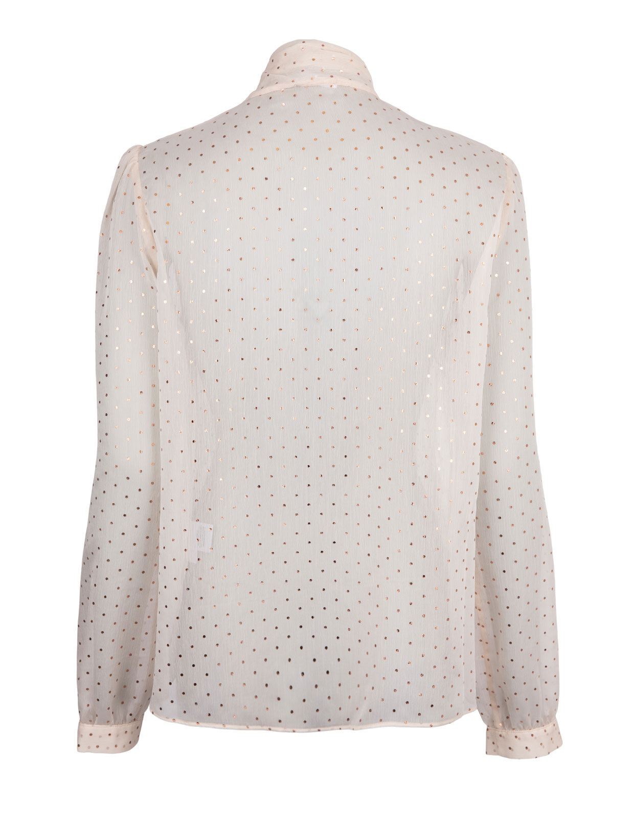 Peony Blouse Gold Dot Cream/Gold Dot