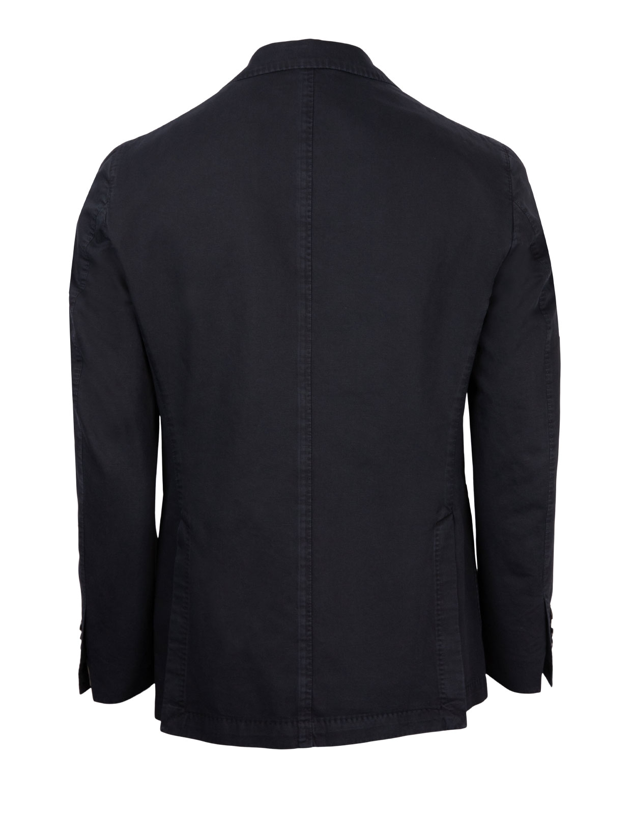 Jack Regular Jacket Cotton Linnen Navy