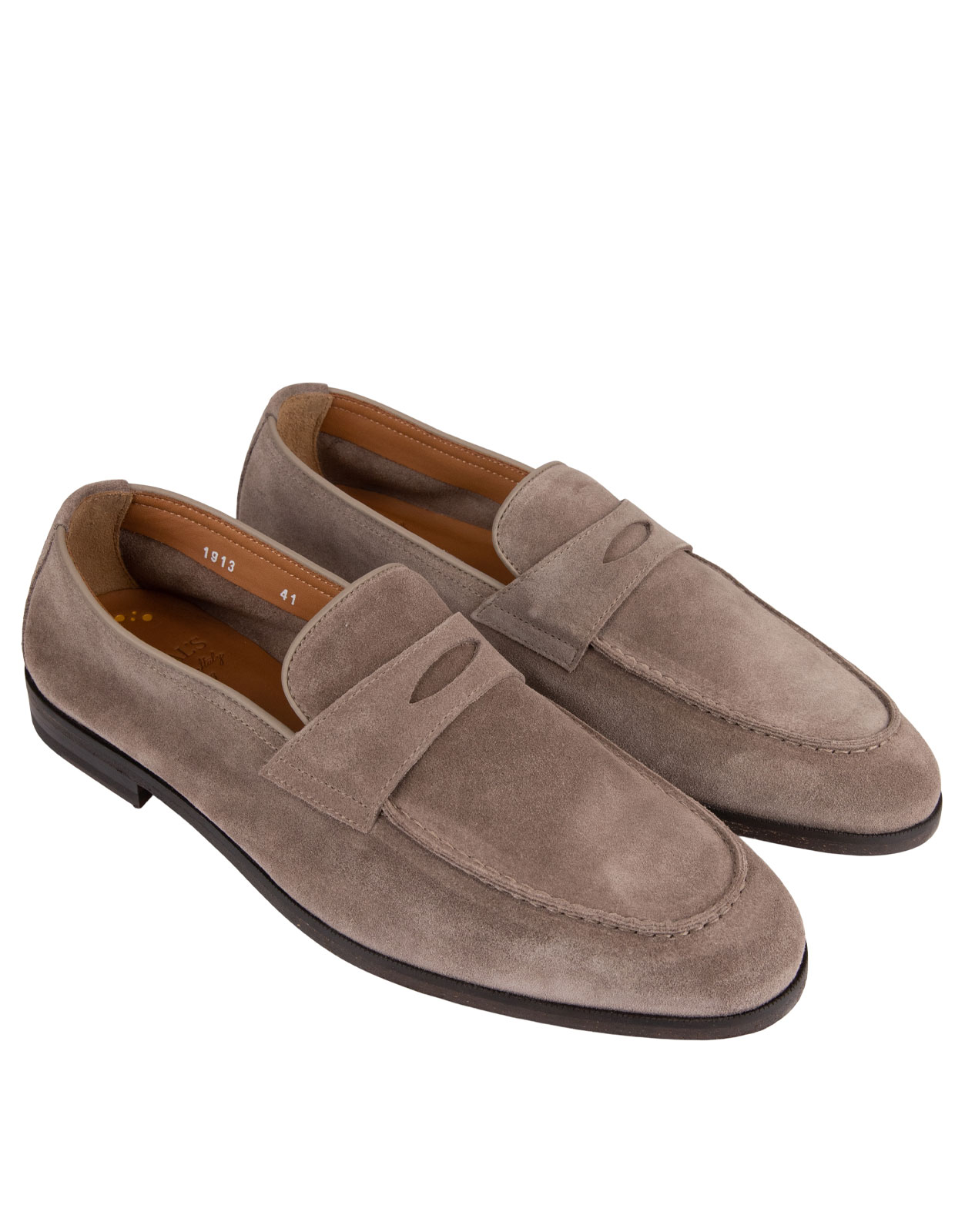 Penny Loafers Washed Taupe