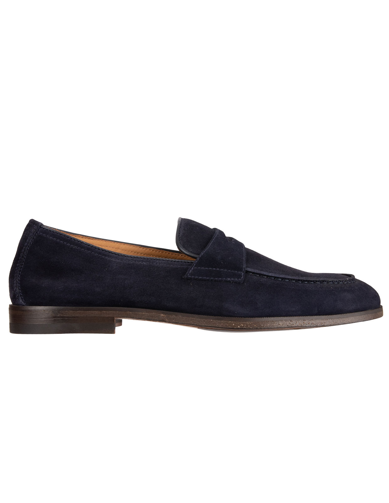 Penny Loafers Washed Blue