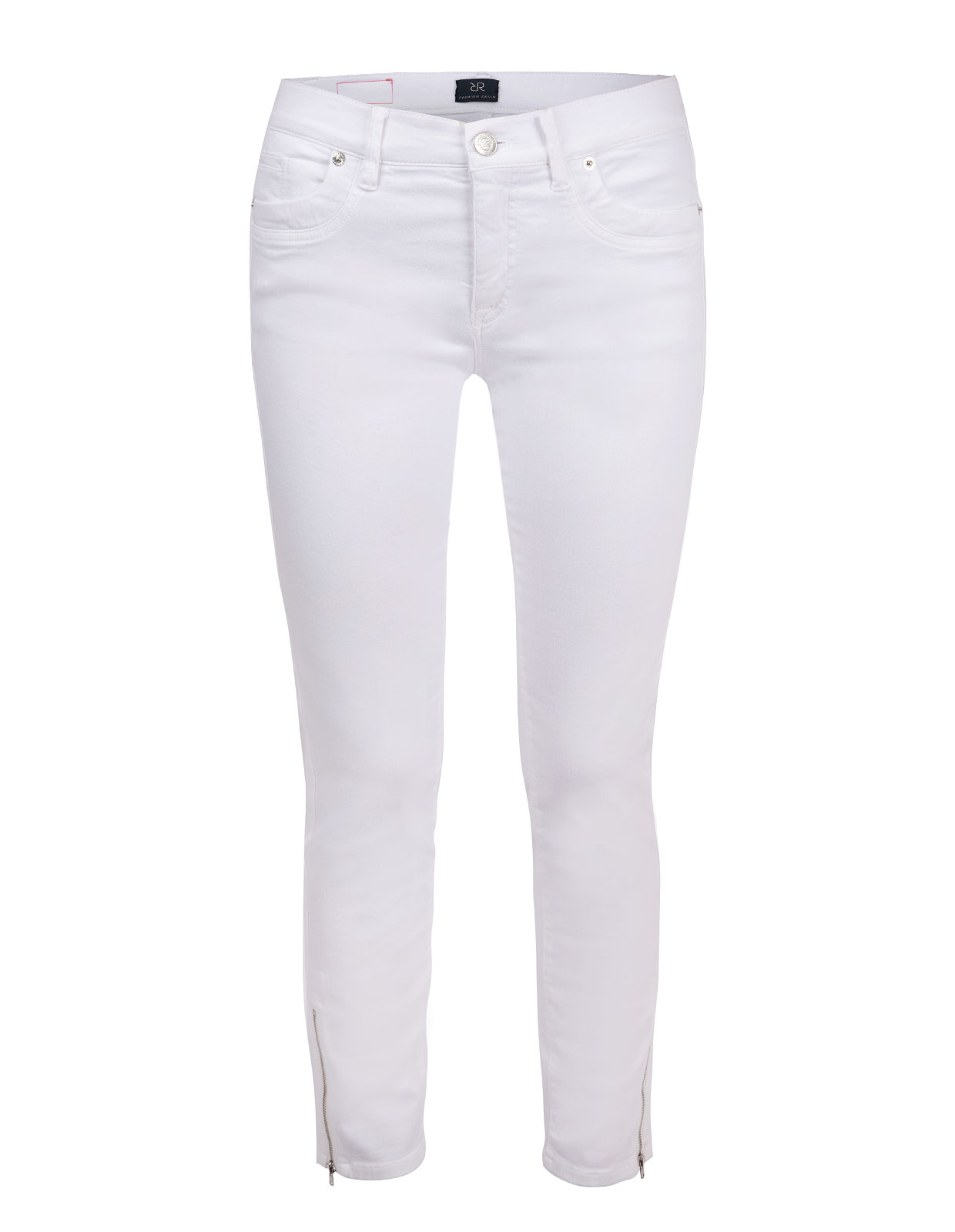 Nomi zip trousers White