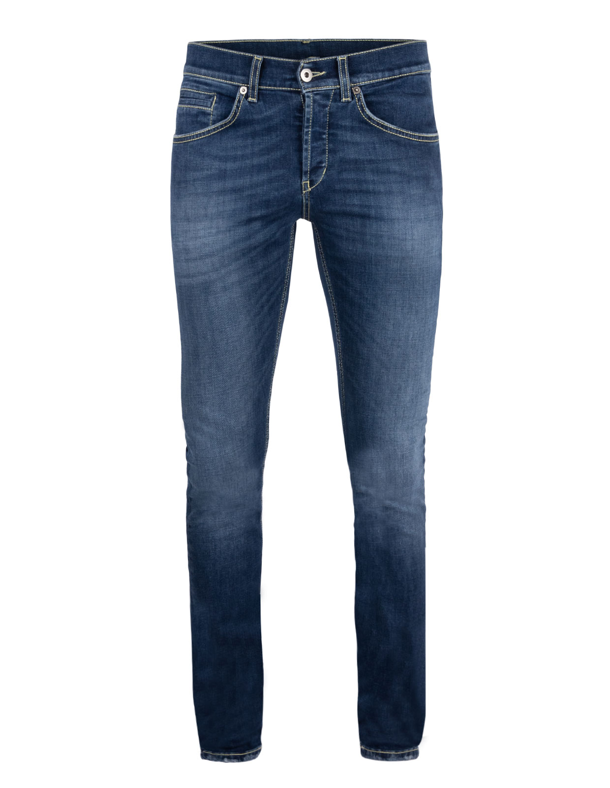 George Skinny Jeans Denim Stretch Mid Blue