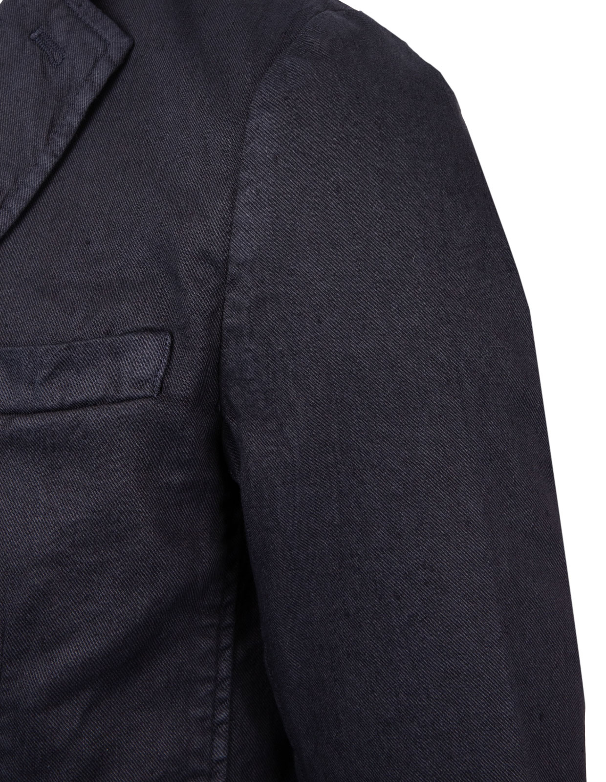 Davinci Safari Slim Fit Blazer Linen Cotton Blue Navy