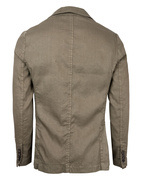 Davinci Safari Slim Fit Blazer Linen Cotton Military