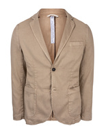 Davinci Safari Slim Fit Blazer Linen Cotton Beige