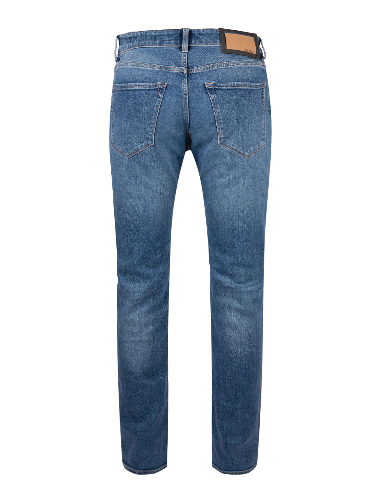 Maine Regular Fit Jeans Comfort Stretch Denim Bright Blue