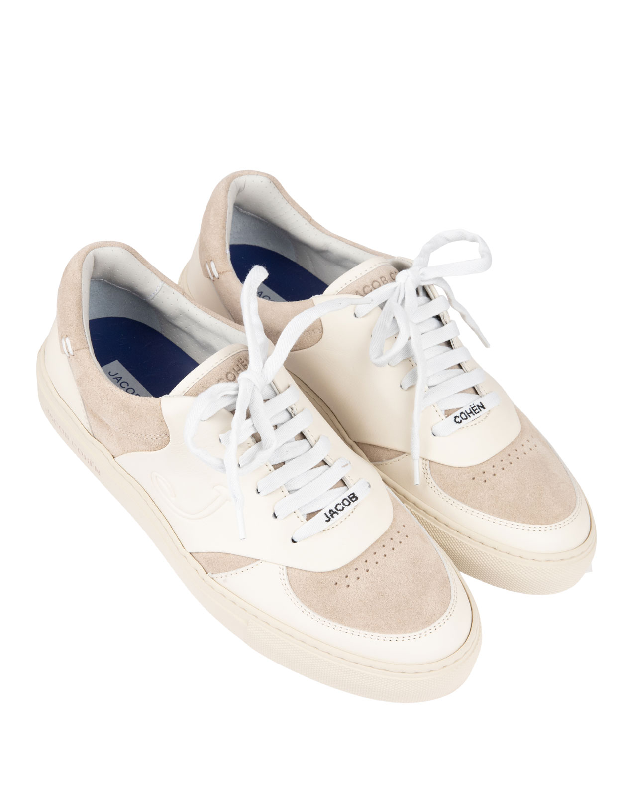 Dreamer Sneaker Suede Leather Offwhite/Taupe