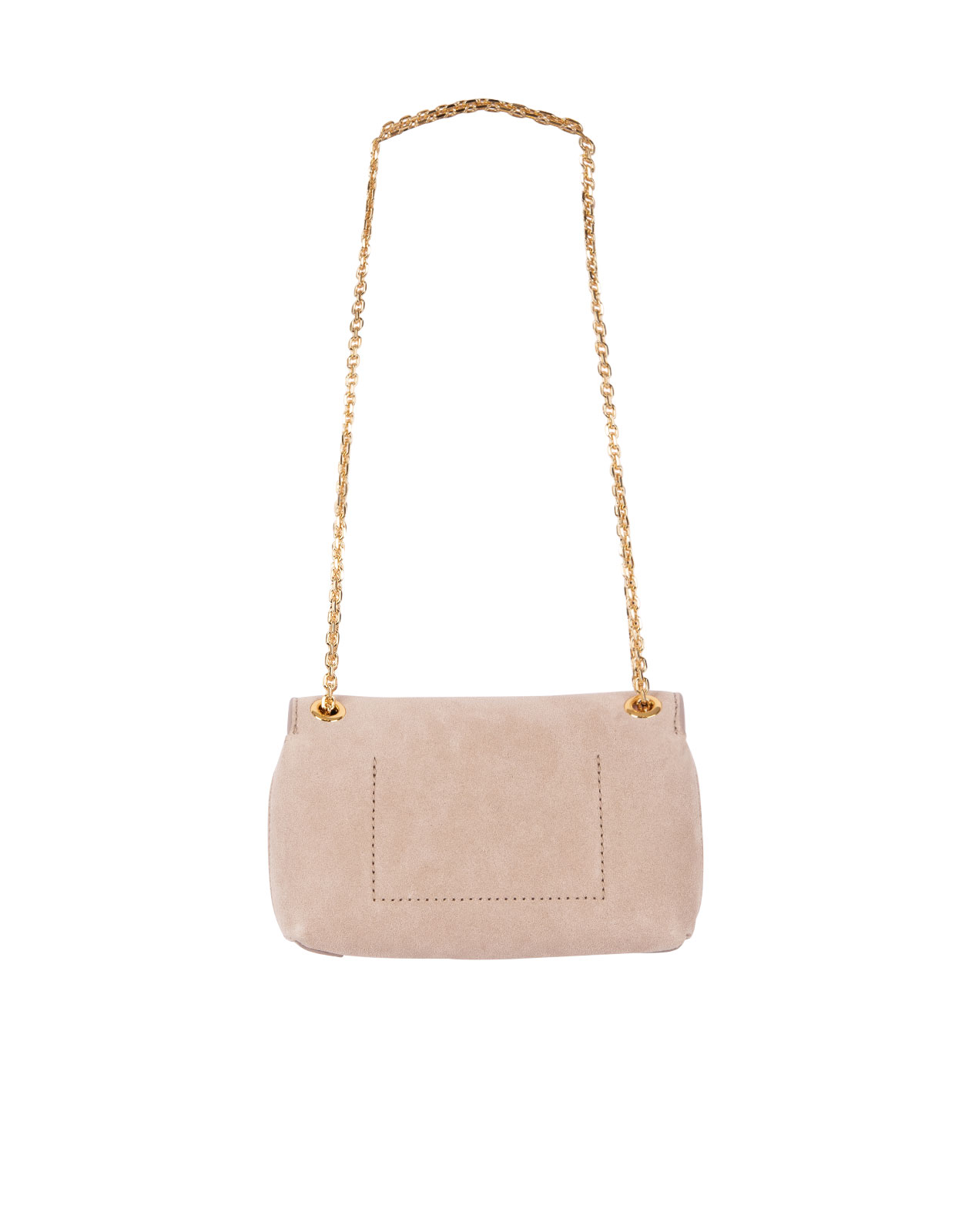 Bag Liya Chain Suede N Powder