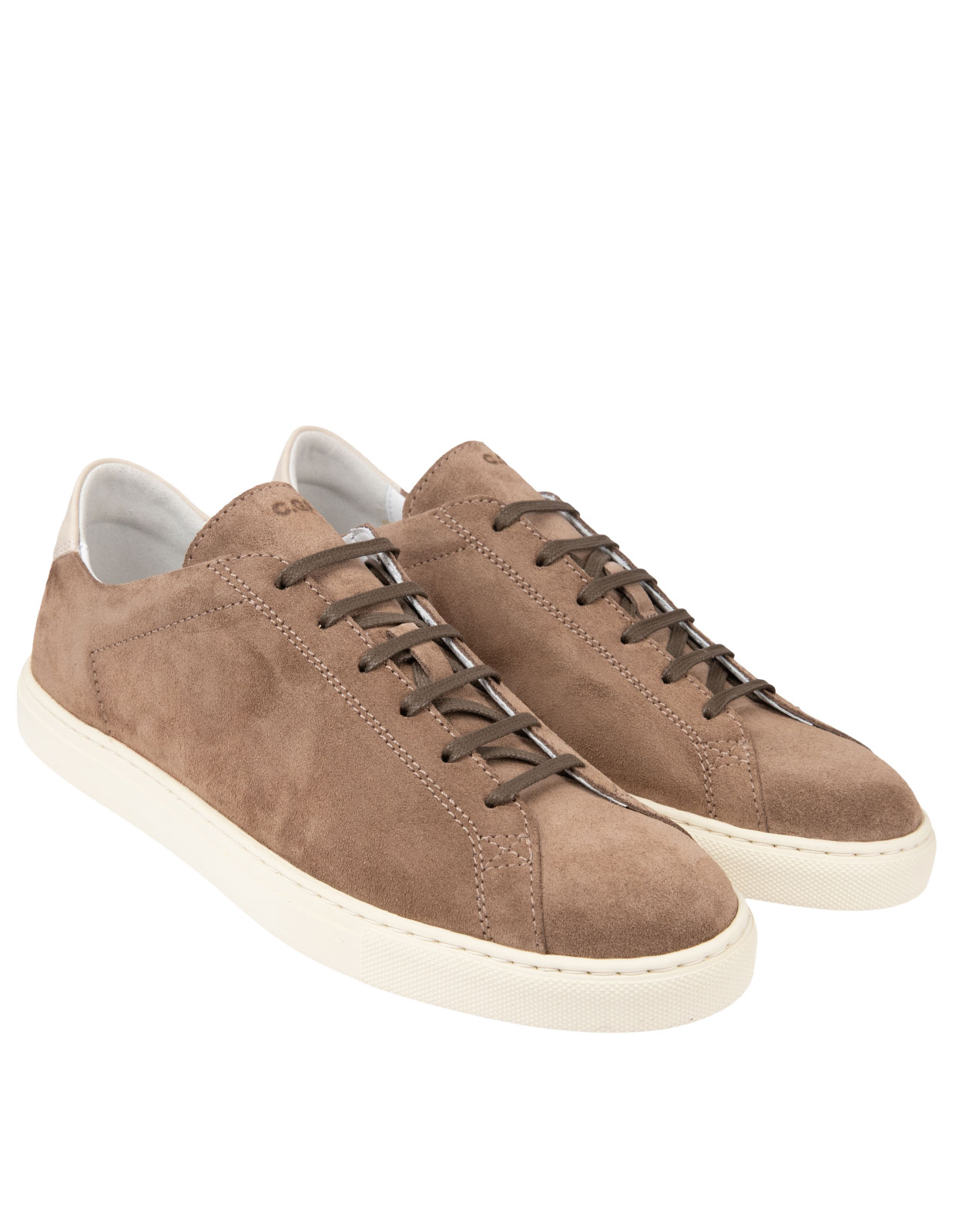 Racquet Unlined Suede Sneaker Tabac