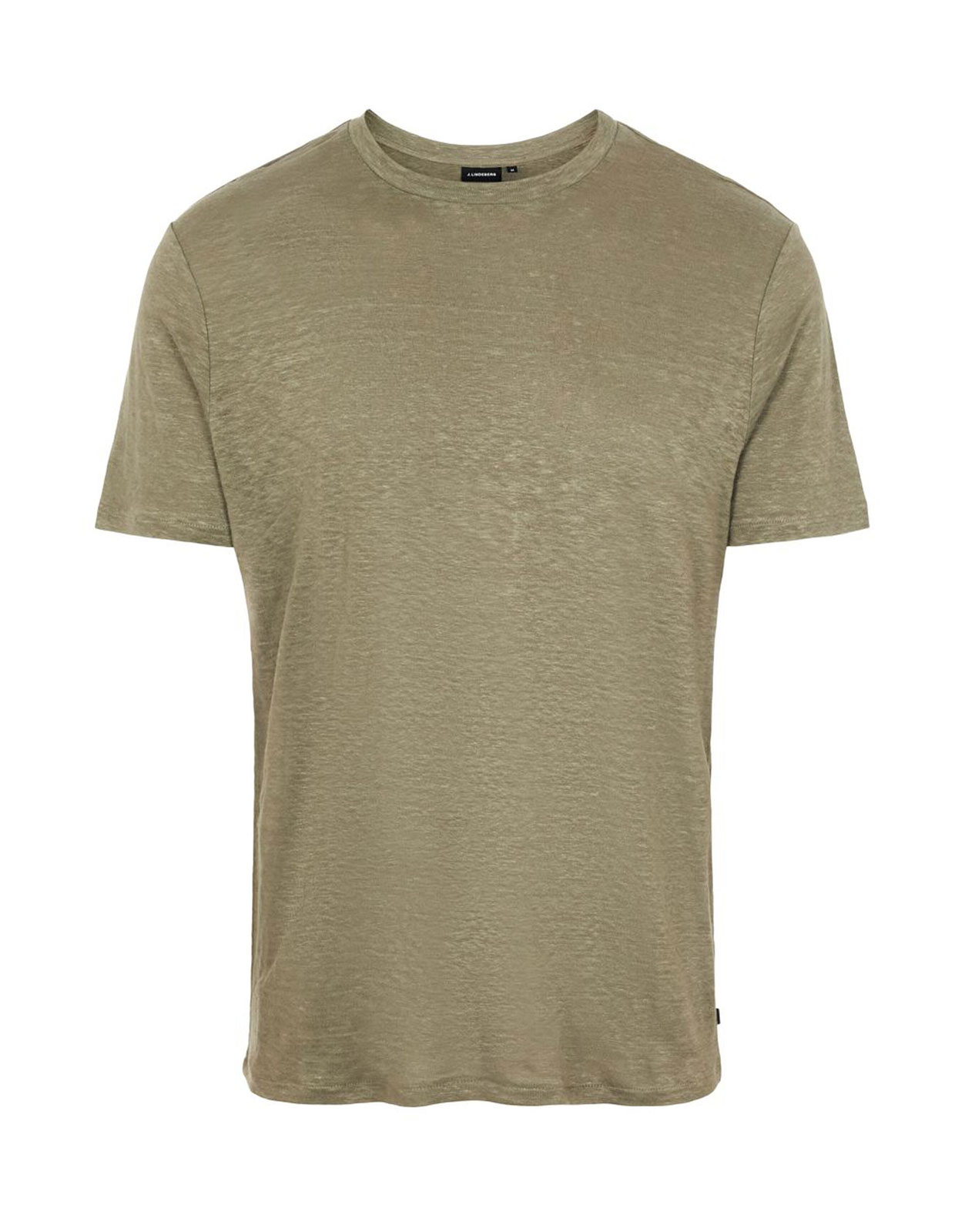 Coma Linen T-Shirt M Lake Green