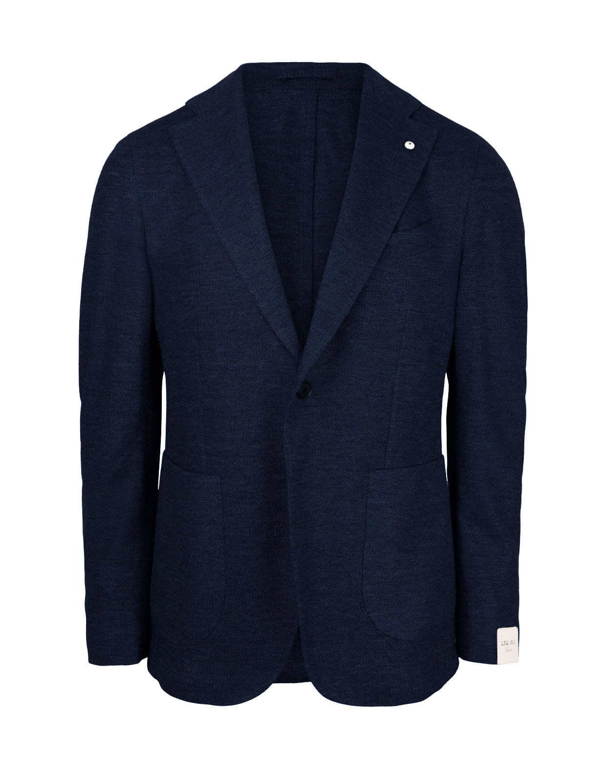 Jack Regular Jersey Jacket Cotton Navy