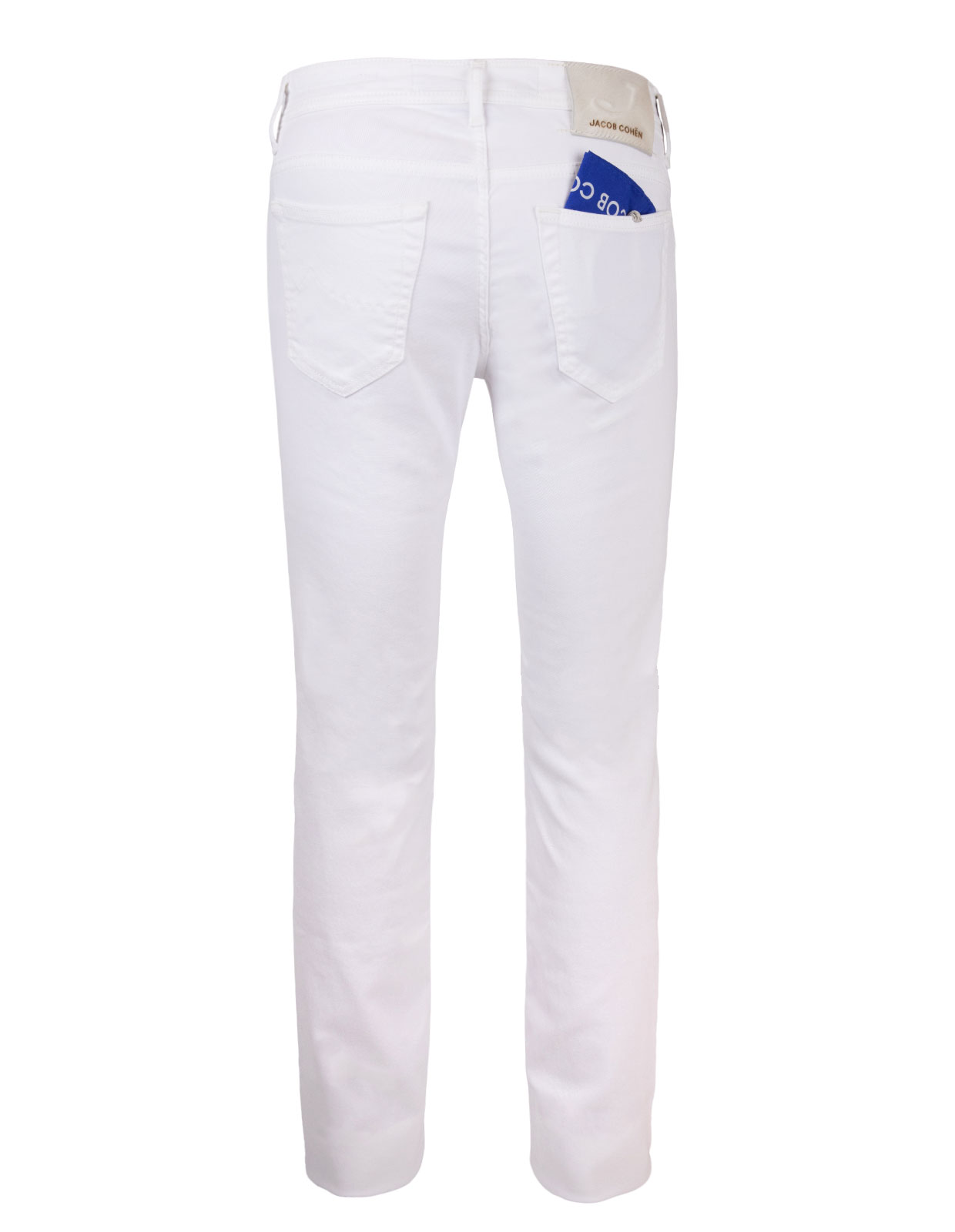 J688 Jeans Denim Stretch White