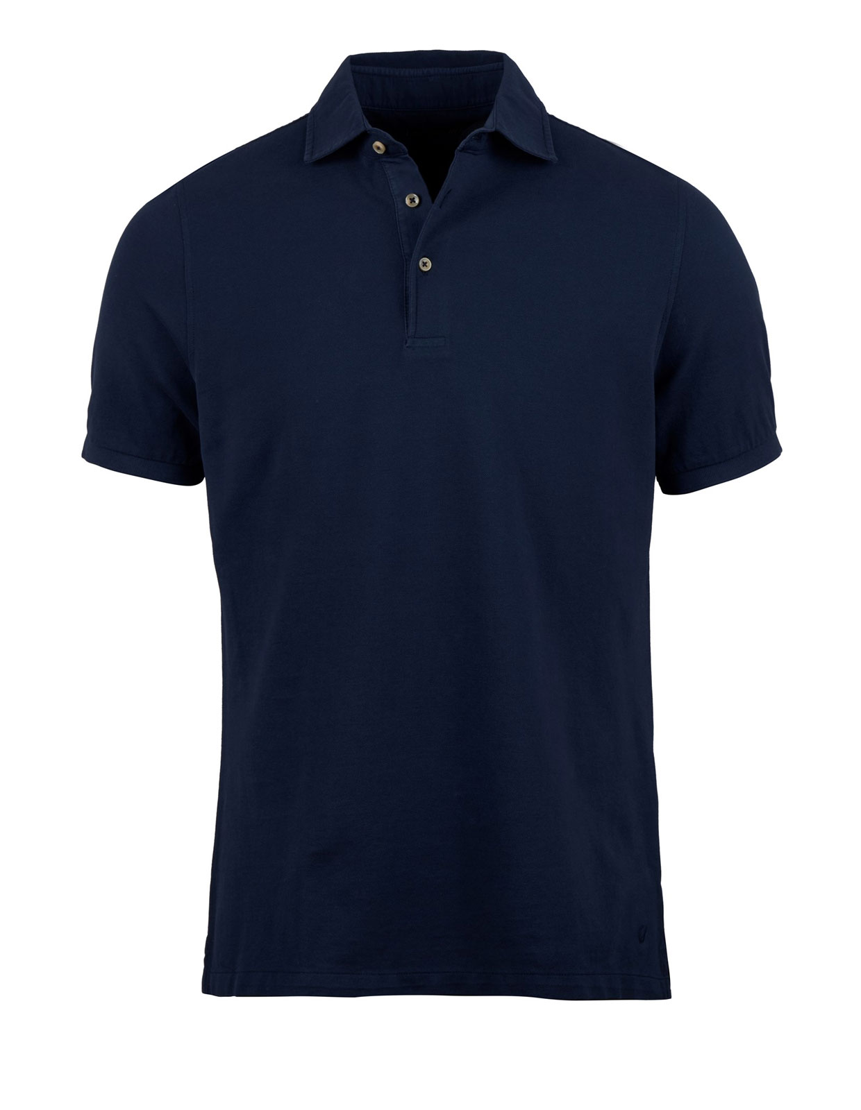 Polo Shirt Pigment Dyed Navy