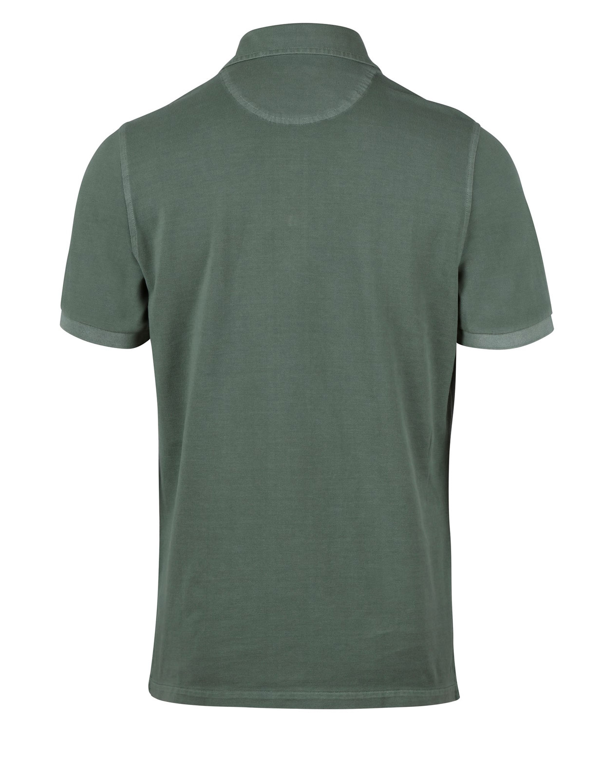 Polo Shirt Pigment Dyed Sage