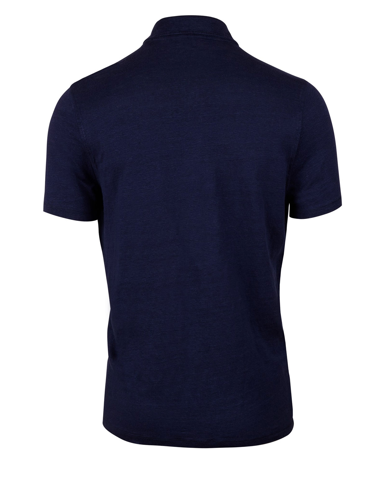 Polo Shirt Linen Navy