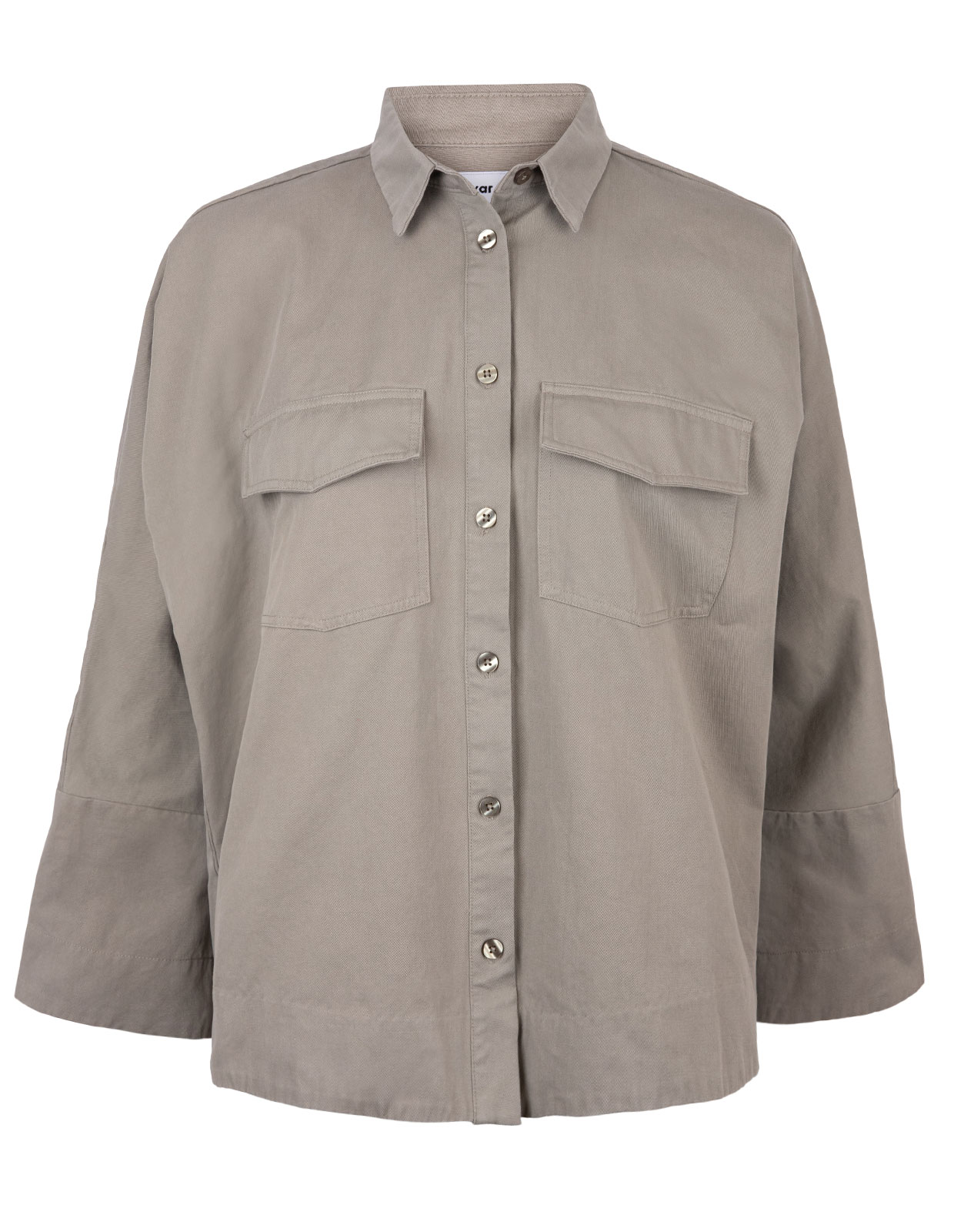 Gigi overshirt Light Military