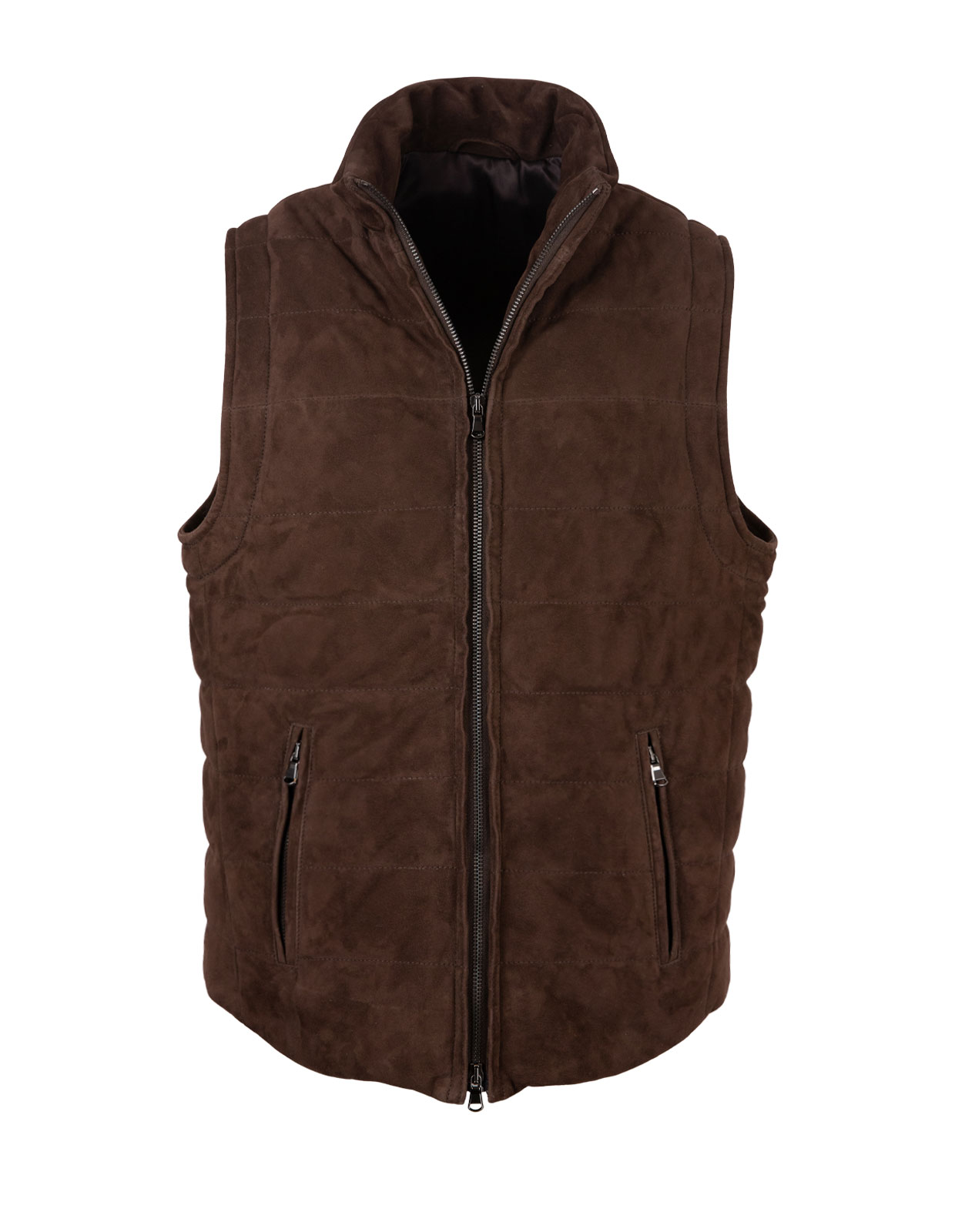 Suede Vest Padded Morro