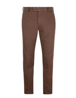 Comfort Slim Chinos Cotton Stretch Cacao