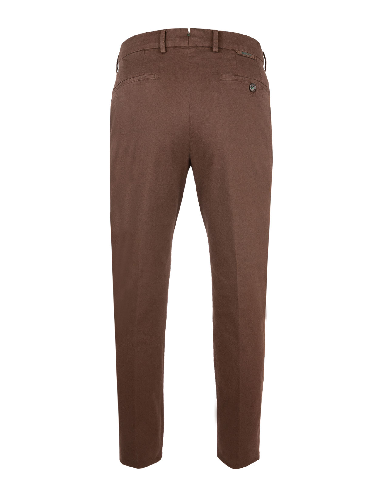 Berwich X Ströms Comfort Slim Chino Cotton Stretch Cacao