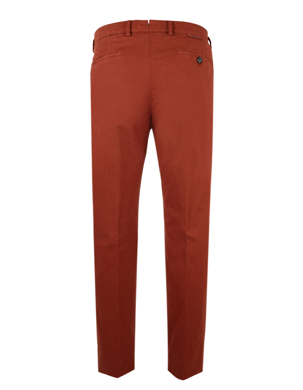 Berwich X Ströms Comfort Slim Chino Cotton Stretch Brandy