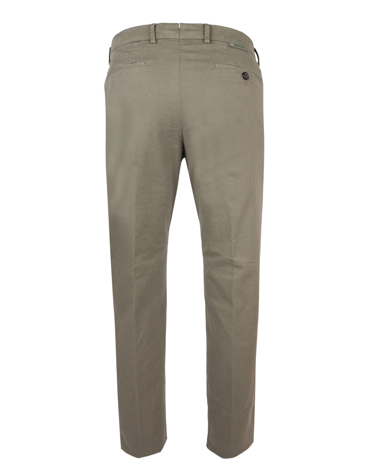Berwich X Ströms Comfort Slim Chino Cotton Stretch Verde Salvia