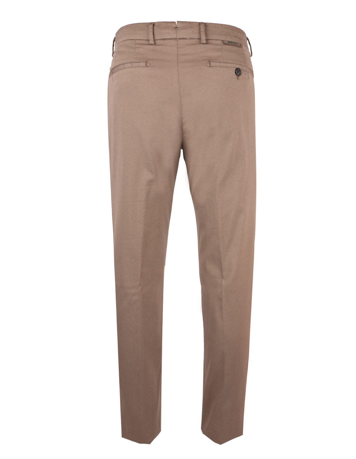 Comfort Slim Chinos Cotton Silk Stretch Noce