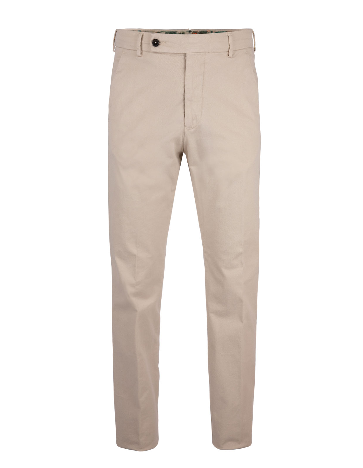 Comfort Slim Chinos Cotton Stretch Gesso