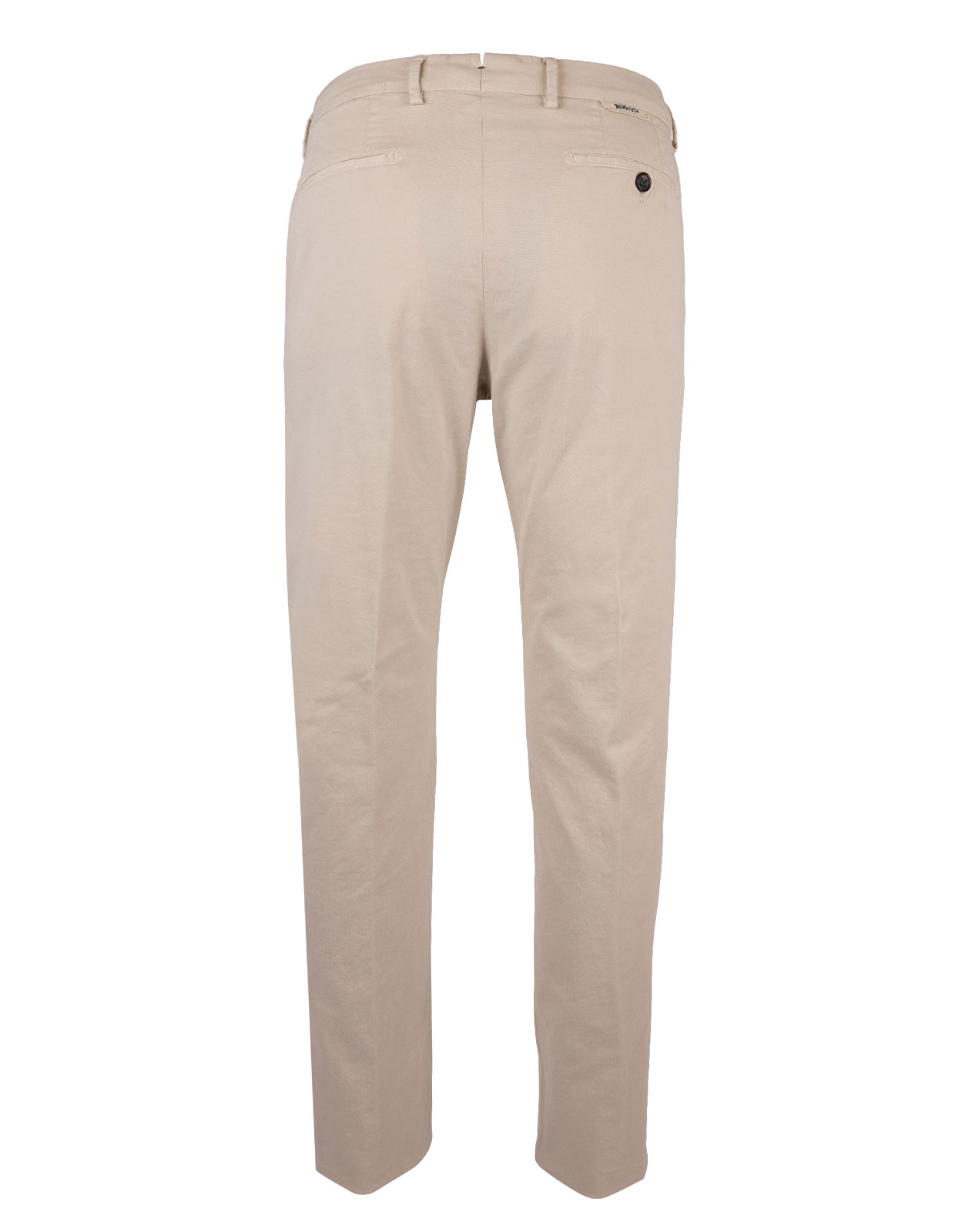Berwich X Ströms Comfort Slim Chino Cotton Stretch Gesso