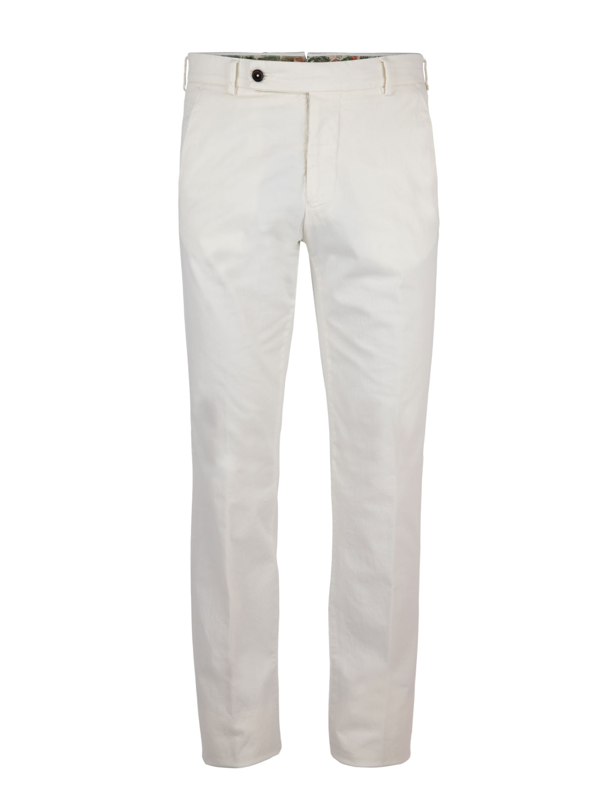 Comfort Slim Chinos Cotton Stretch Panna