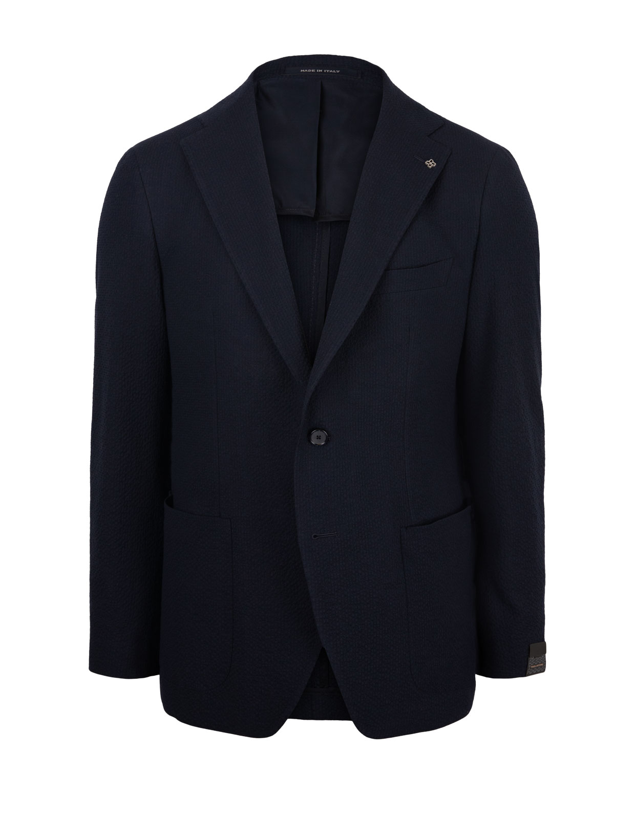 Blazer Washed Cotton B Navy