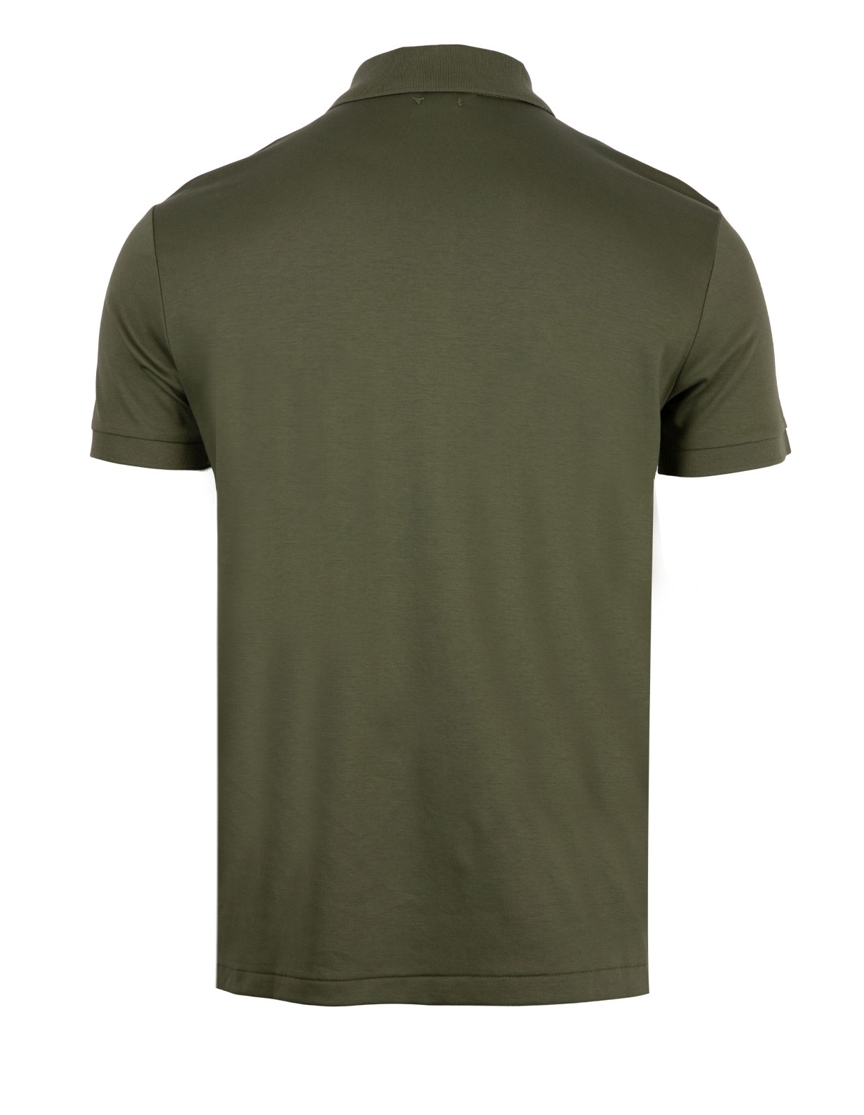Custom Slim Fit Soft Cotton Polo Army Olive