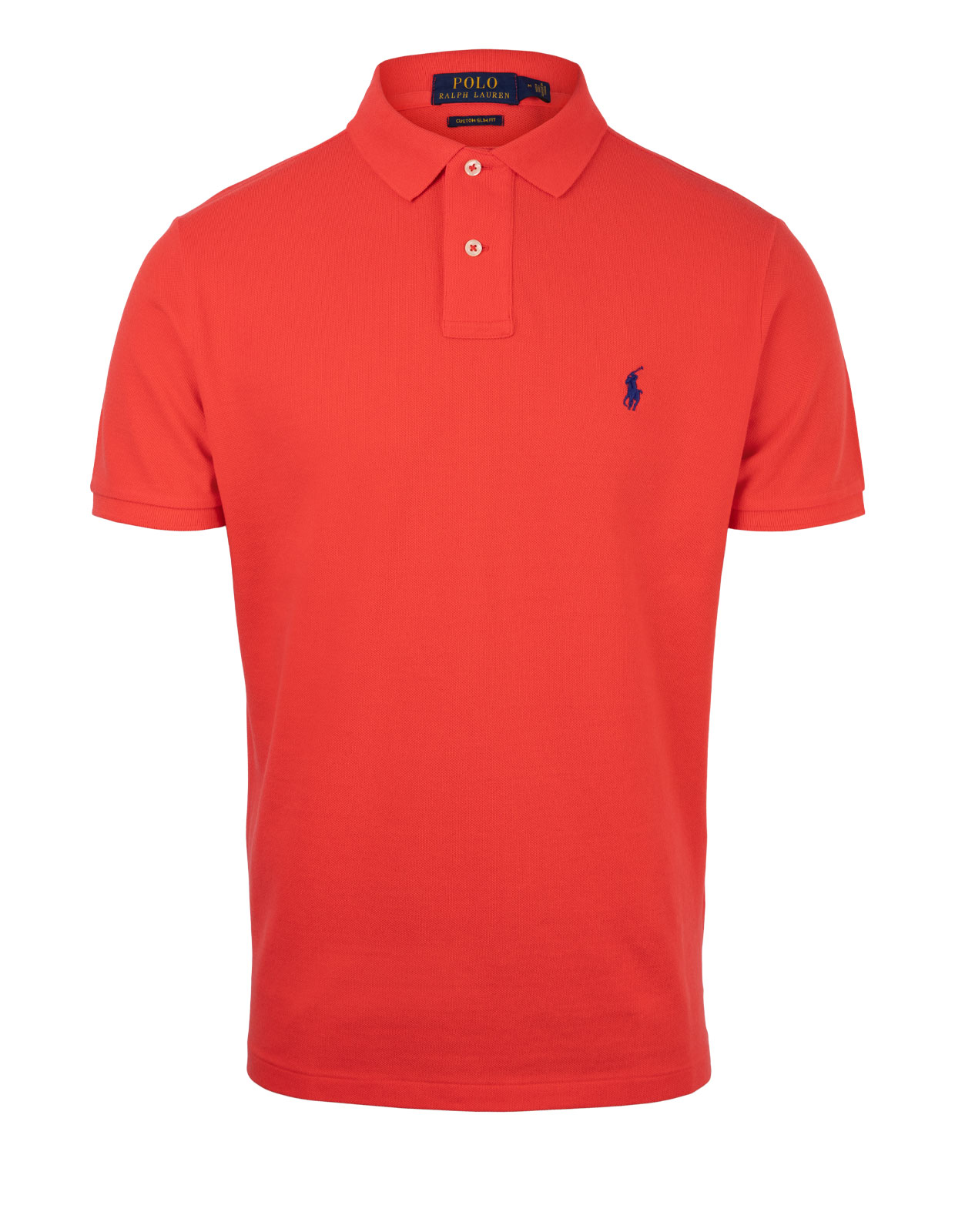Custom Slim Fit Polo Racing Red